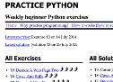 Practice Python